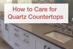 Genial Quartz Countertops | ... To Care For Quartz Countertops And Other Quartz  Countertop Maintenance