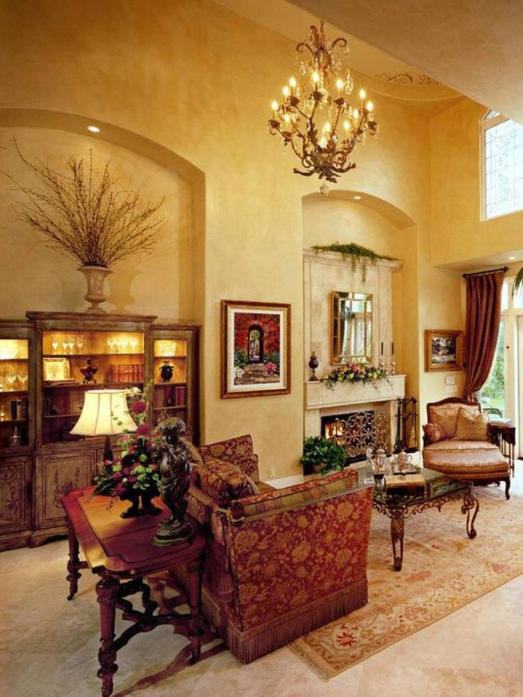 21 Amazing Tuscan Living Room Designs | Tuscan living ...