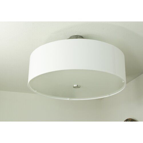 Ainaro 3 Light Ceiling Spotlight Brayden Studio Shade Colour White Ceiling Spotlights Flush Ceiling Lights Ceiling Lights