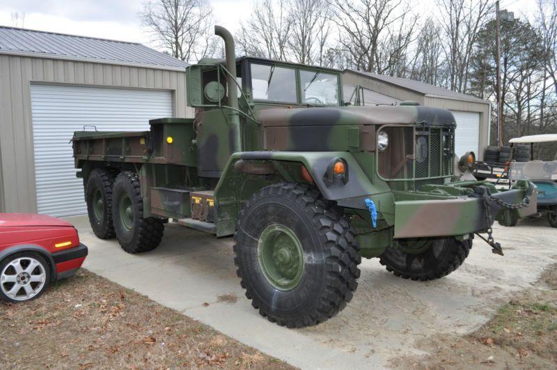 1971 M813A1 W/WINCH 6X6 5 TON MILITARY CARGO TRUCK AM