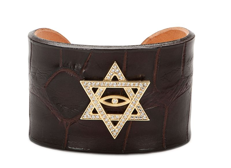 Katie Design Jewelry All Knowing Eye inside of a Star of David