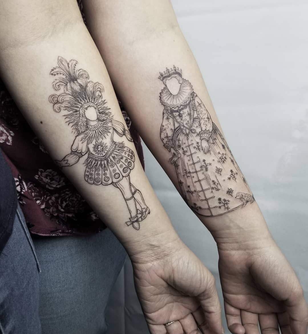 Getting matching ink