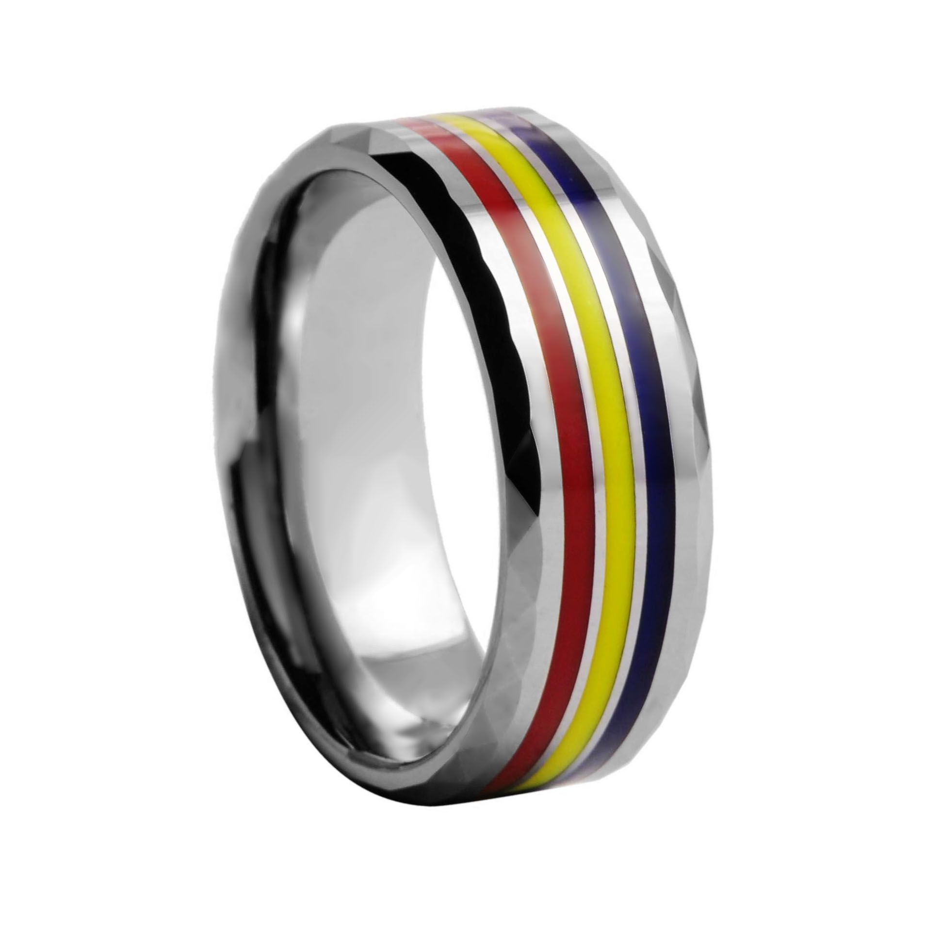 Adelaide Crows Tungsten ring Mens Fashion Rings