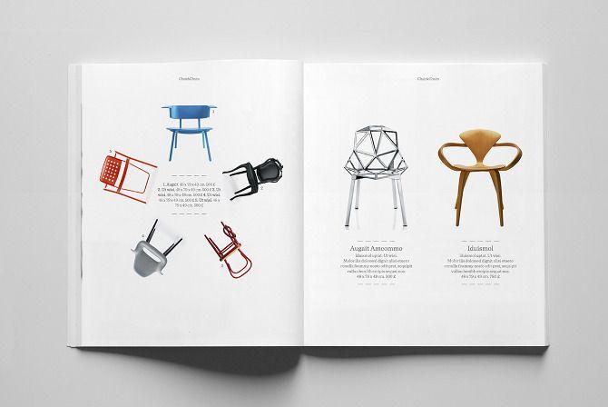 layout   catalogue   Pinterest   Catalog layout, Furniture catalog ...