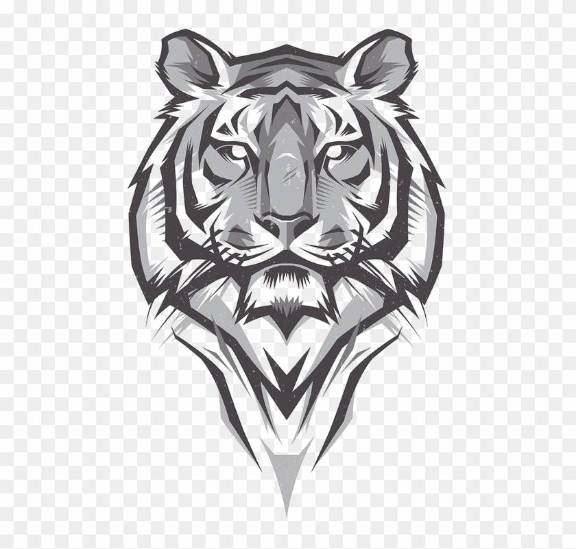 Find Hd Tiger Png Logo Tigre De Bengala Dibujo Transparent Png To Search And Download More Free Transparent Png Images Logo Design Art Tiger Logo Tigre