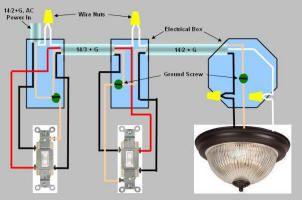 2 way switch diagrama de cableado uk