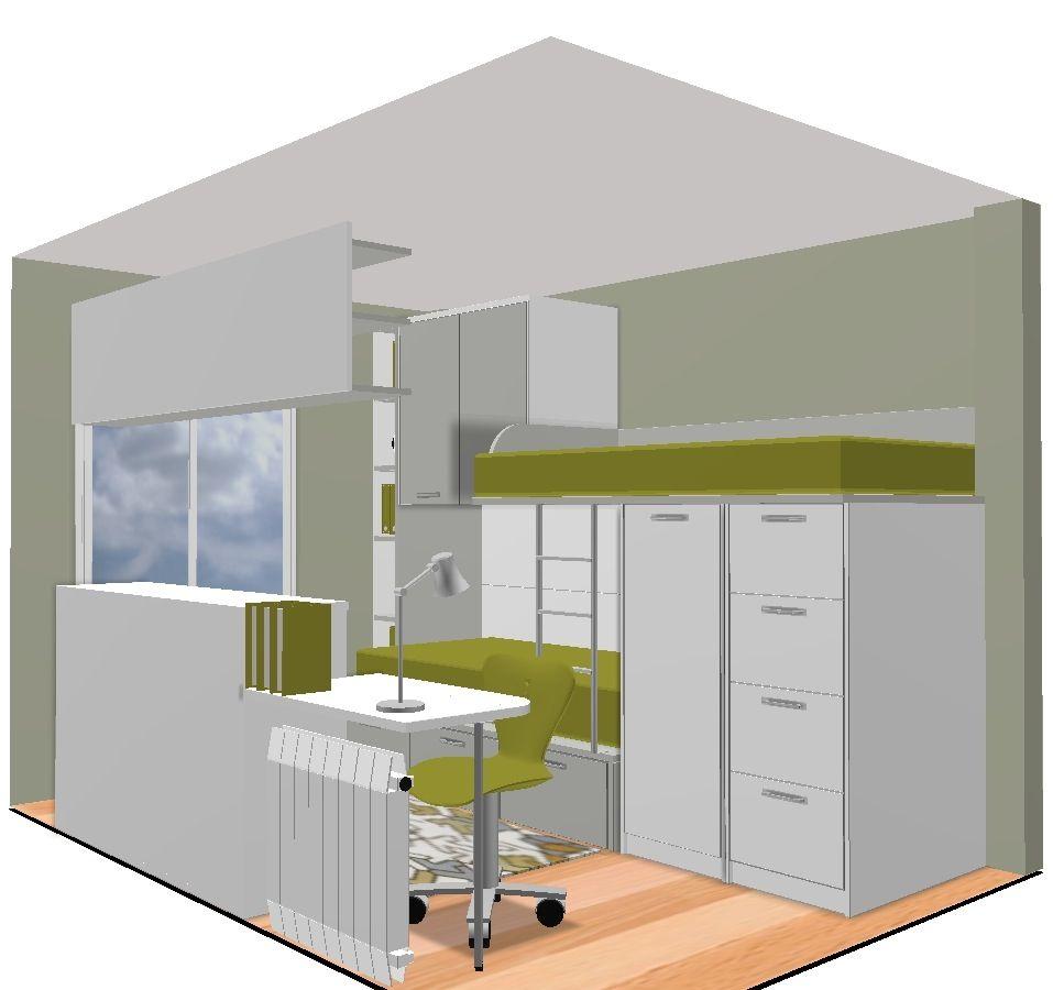 Nuevos proyectos dormitorio juvenil con literas y cama for Tiendas de muebles en tarragona
