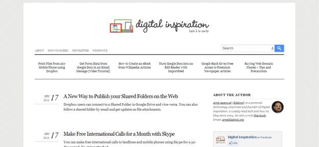 labnol-blogger-template | BlogSpiceUp | Pinterest