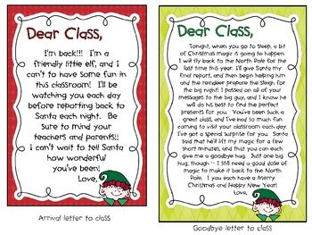 Christmas  Classroom Elf Printables  Elves Shelves And School