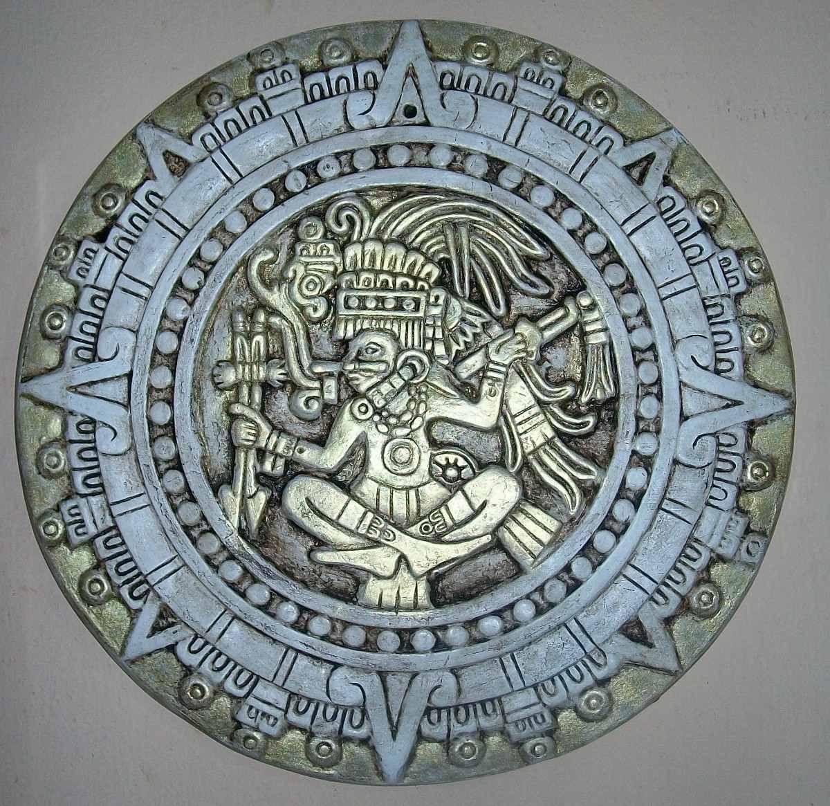 calendarios maya y azteca - Buscar con Google | para pintar/estampar ...
