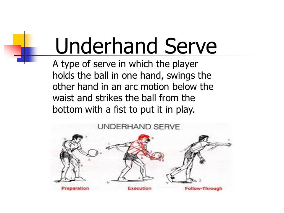 Image result for underhand serve in volleyball