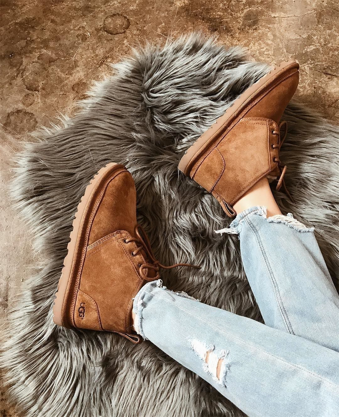 Womens UGG® Neumel Short Boot Chestnut in 2020 | Ugg boots
