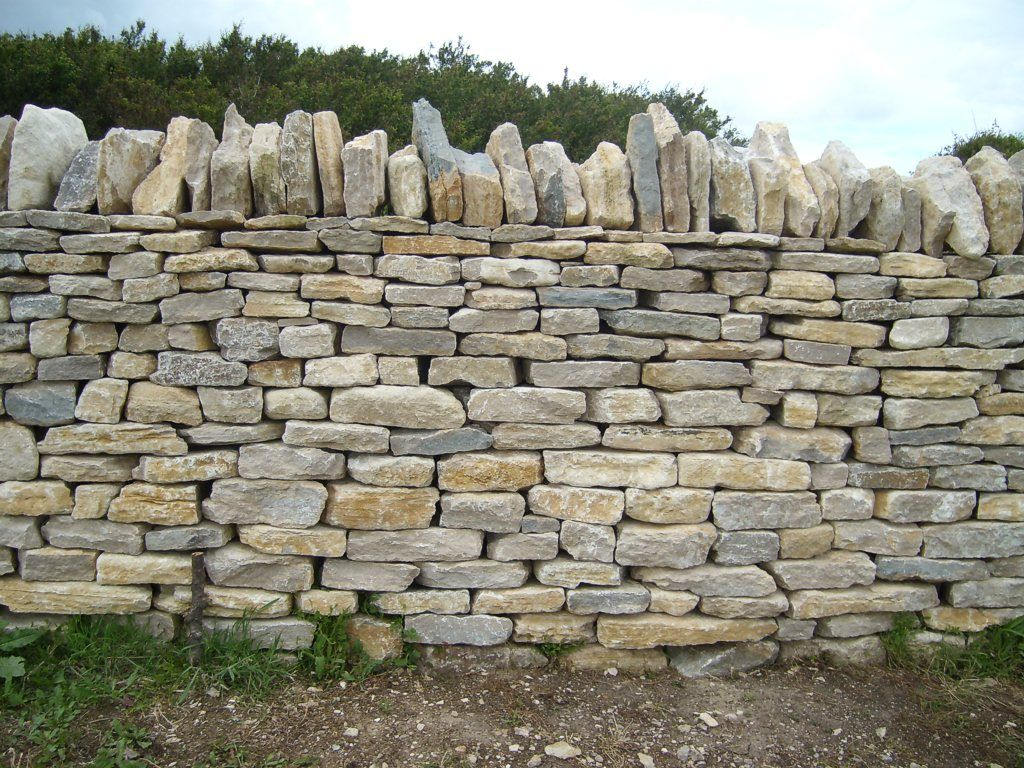Related Image Purbeck Stone Rock Wall Dry Fences Garden Stones