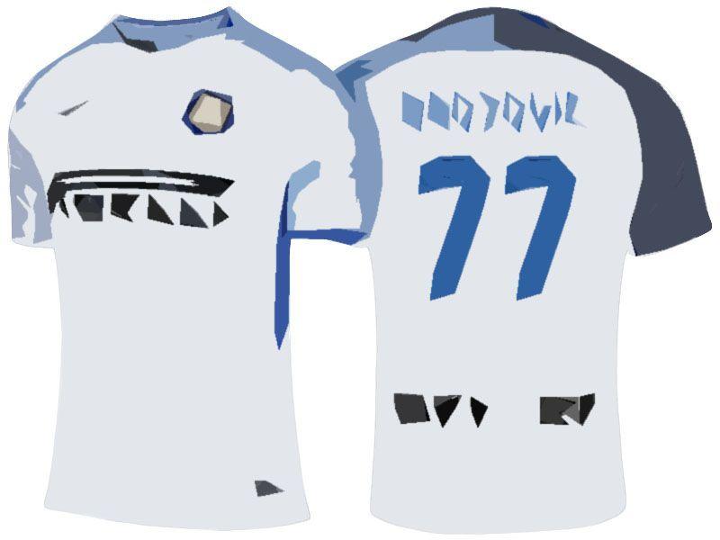 reputable site 1966b 78e55 Inter Milan Jersey Shirt For Cheap 17-18 marcelo brozovic ...