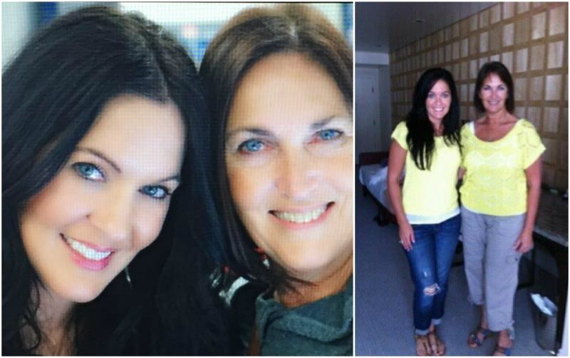 Megan Fox's sister Kristi Branim Fox and mother Gloria ...