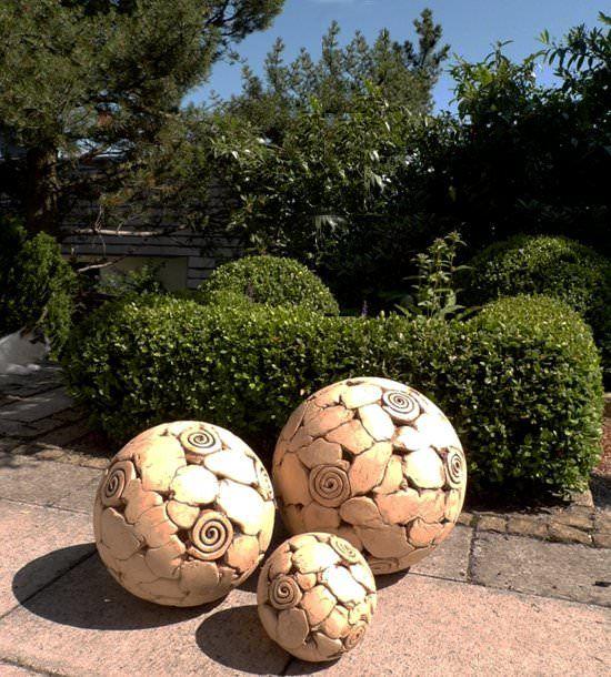 Kugeln für den Garten Ceramics Inspiring Pinterest - kugeln fur garten