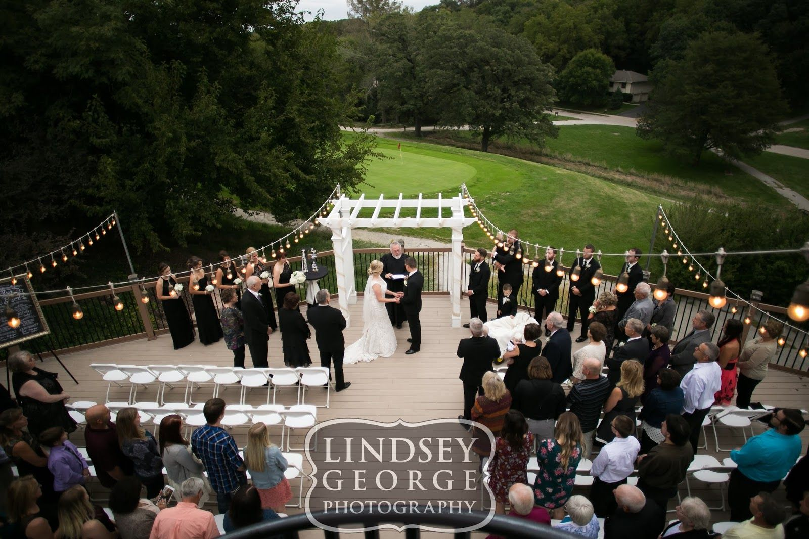 Gorgeous Outdoor Fall Wedding Ceremony A View In