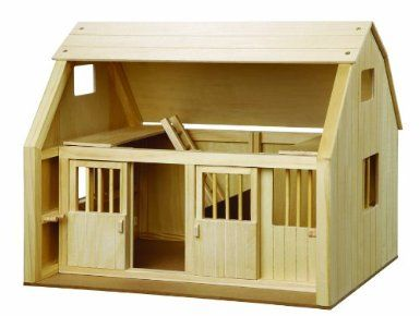 """Amazon.com: Maxim Groton Stables """"Bitty"""" Grande Stable: Toys & Games"""