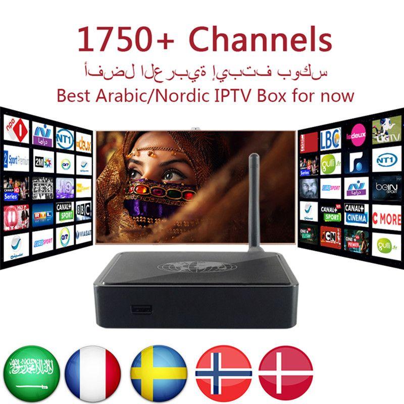 MAG254 IPTV Box Royal IPTV Arabic Swedish French Europe UK IPTV 1800