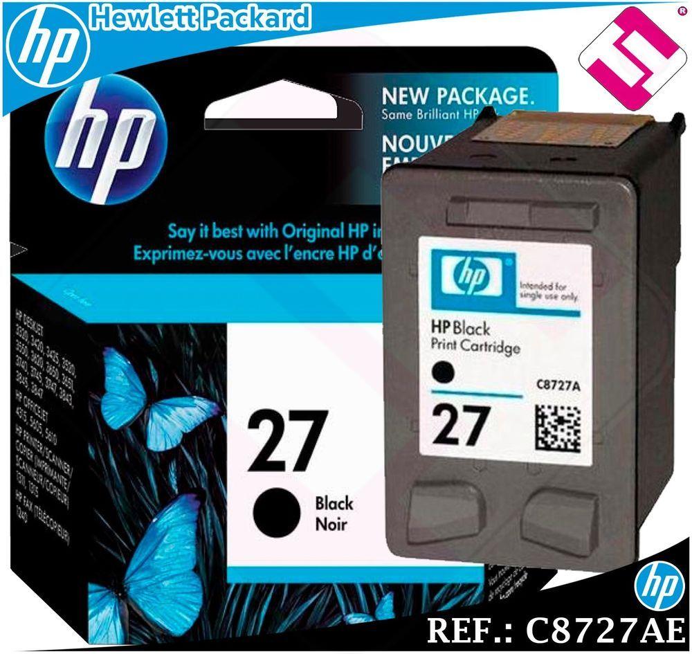 Pin En Tinta Hp Original Hewlett Packard