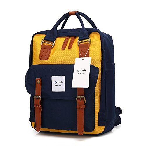48e6ee6bda Luolin 14 Inches Laptop Backpack College School Book bags... https
