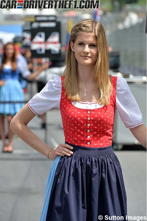 Fotos: Chicas GP de Austria F1 2014 | CarandDriverTheF1.com