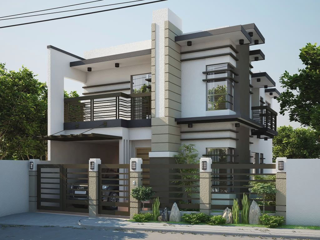 Second Floor House Design Philippines | keren | Pinterest | Modern ...