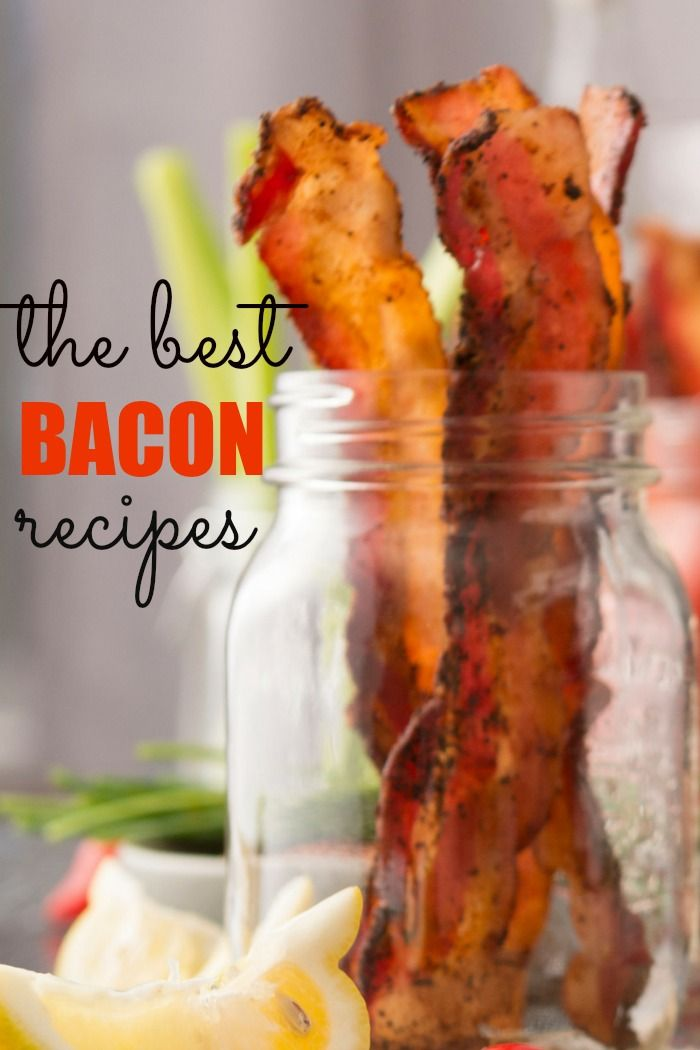 These are my best bacon recipes. You'll find sweet and savory on this list and much more.