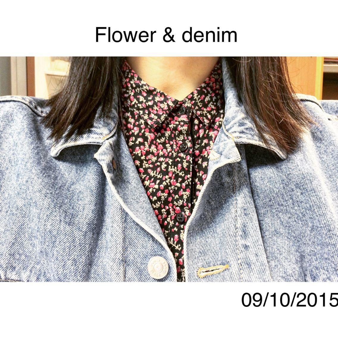 Flower&denim