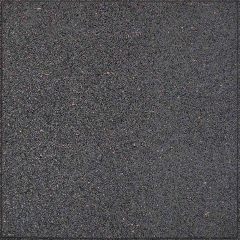 18x18 Inch EnviroTile Flat Profile Grey Patio tiles