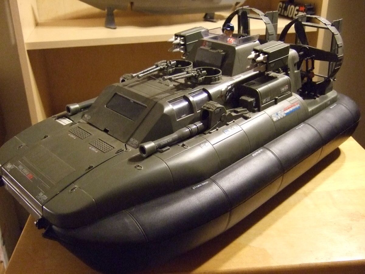 Gi joe Gijoe Killer Whale hovercraft vehicle part