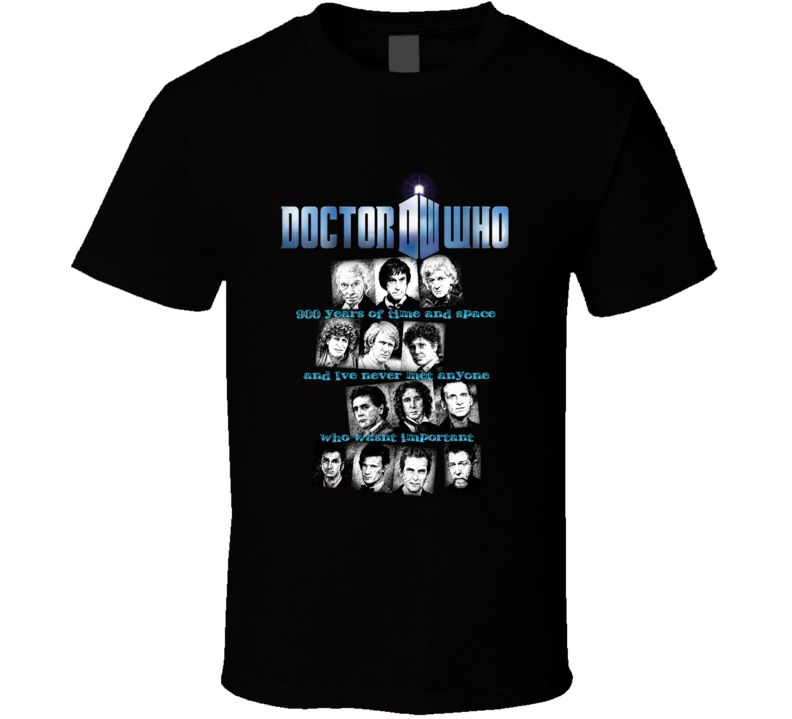 Dr. Who - The Doctors T Shirt