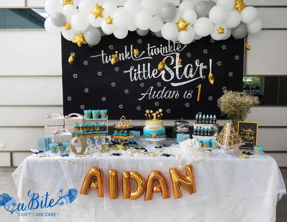 "Stars / Birthday ""Twinkle Twinkle Little Star""  Catch My Party"