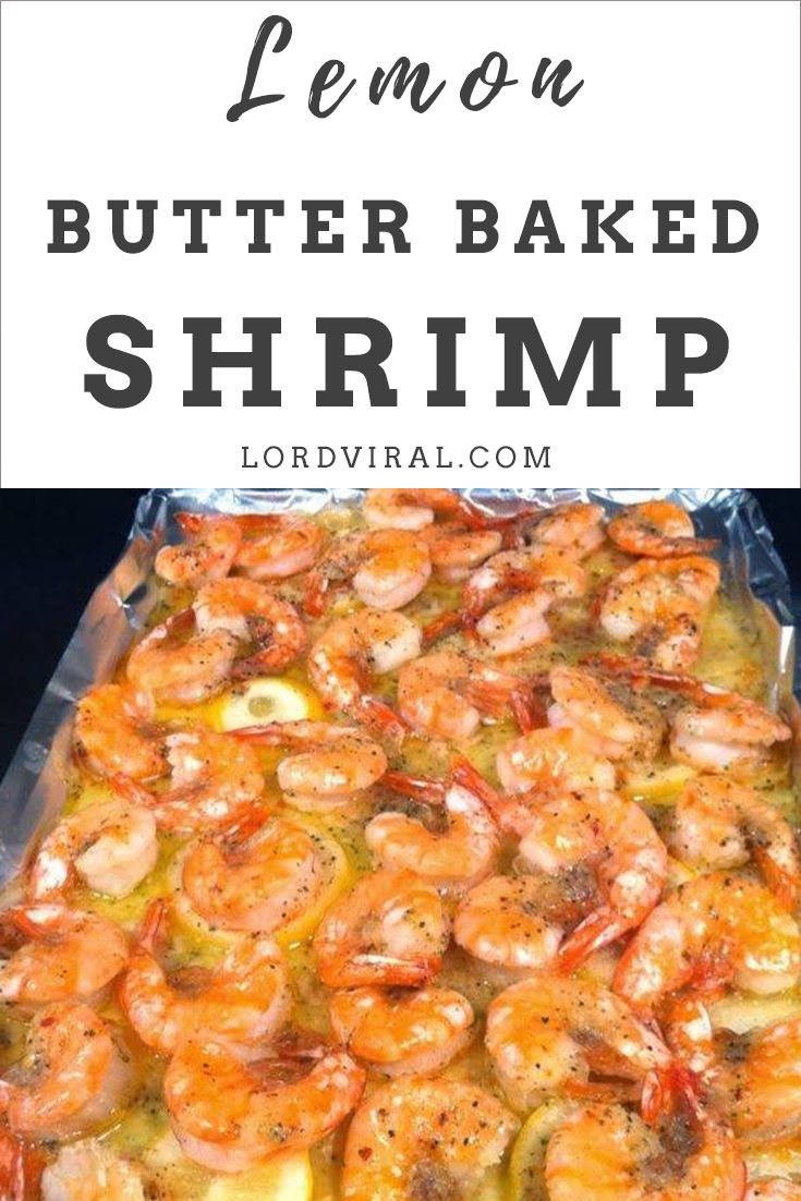 This lemon garlic butter baked shrimp is fresh, crunchy and full of zest. Ready in 20 minutes with easy to get store-bought ingredients! #LemonBakedShrimp #BakedShrimp #LemonButterBakedShrimp #Lemon #Butter #Shrimp #cajuncooking