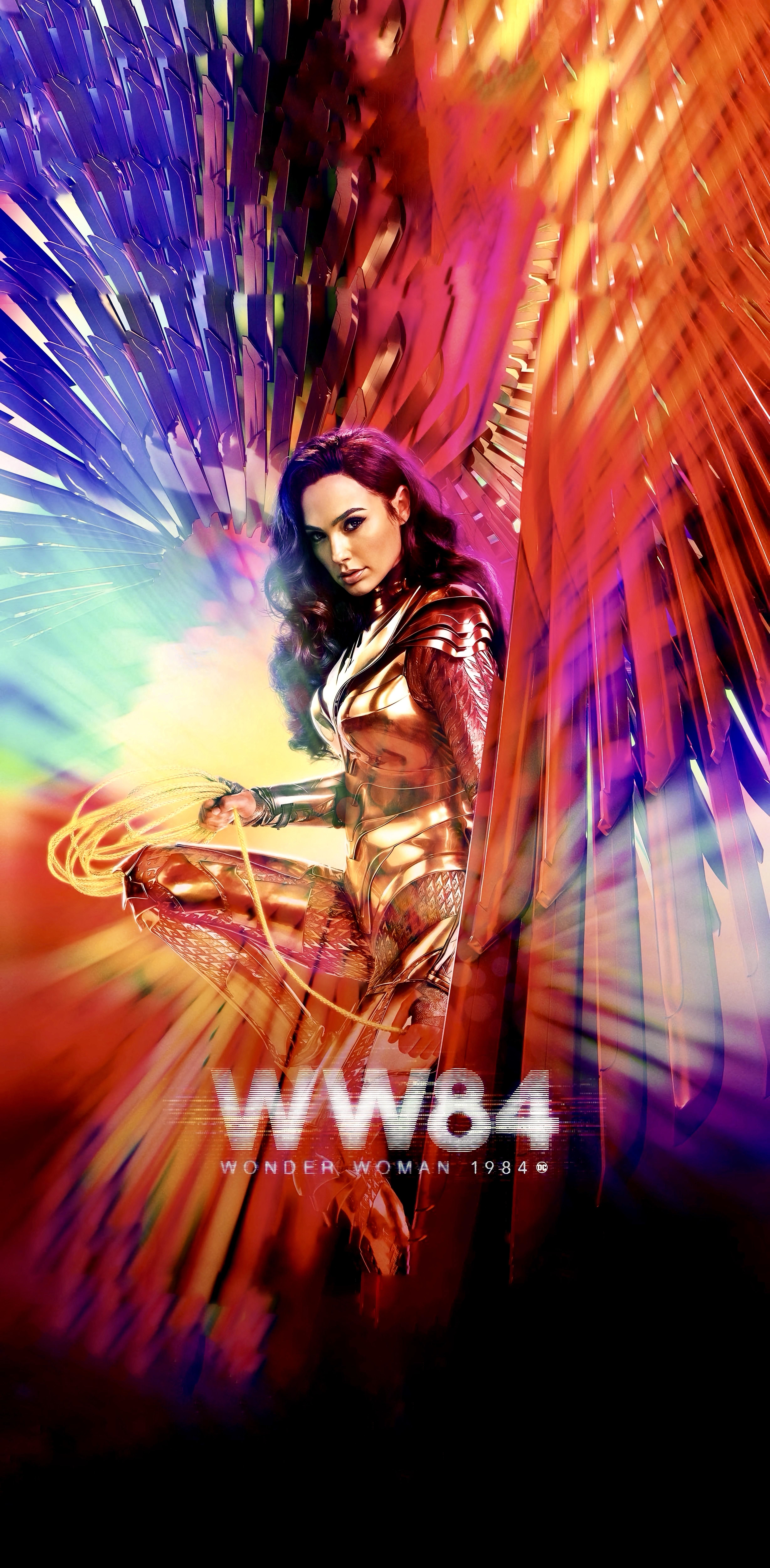Wonder Woman 1984 Made The New Poster Taller In 2020 New Poster Wonder Woman Movie Wonder Woman