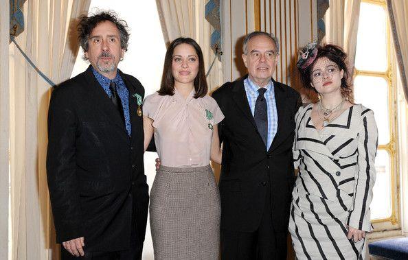 Helena Bonham Carter and Tim Burton Photos - Marion Cotillard and Tim Burton Receive Honors - Zimbio