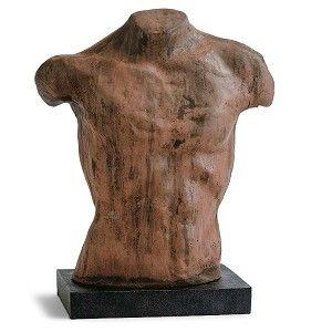 The hot new Boyfriend Bust. #interiorhomescapes #reginaandrewdesign #design #decor #sculpture #hot #statue #bust #goldleaf
