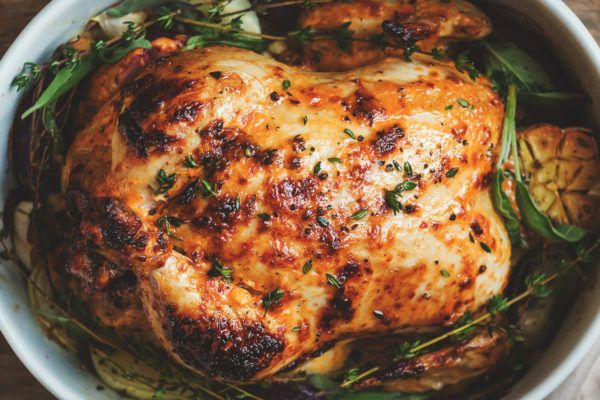 Mayonnaise Roasted Whole Chicken Mayonnaise Oven Roast And Oven