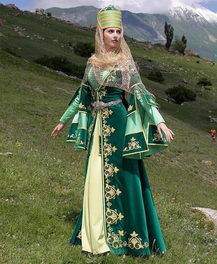 Татарский национальный костюм (51 фото): женские, детские ...