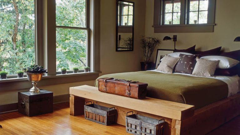 These Warm Paint Color Ideas Will Make Your Home Feel Extra Cozy With Images Zen Bedroom Country Modern Home Rustic Bedroom