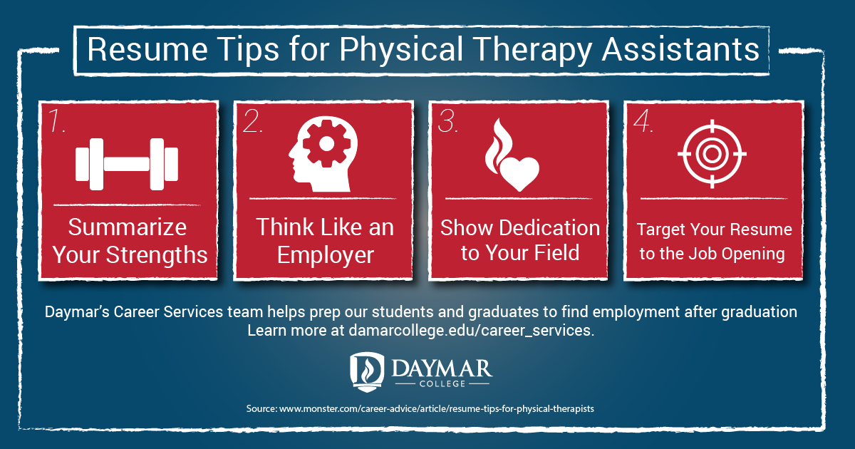 Are You Preparing Your Resume For Physical Therapist Assistant Jobs