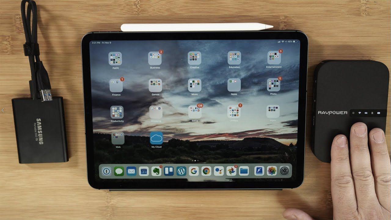 Connect Any Hard Drive to an iPad Pro YouTube Ipad pro