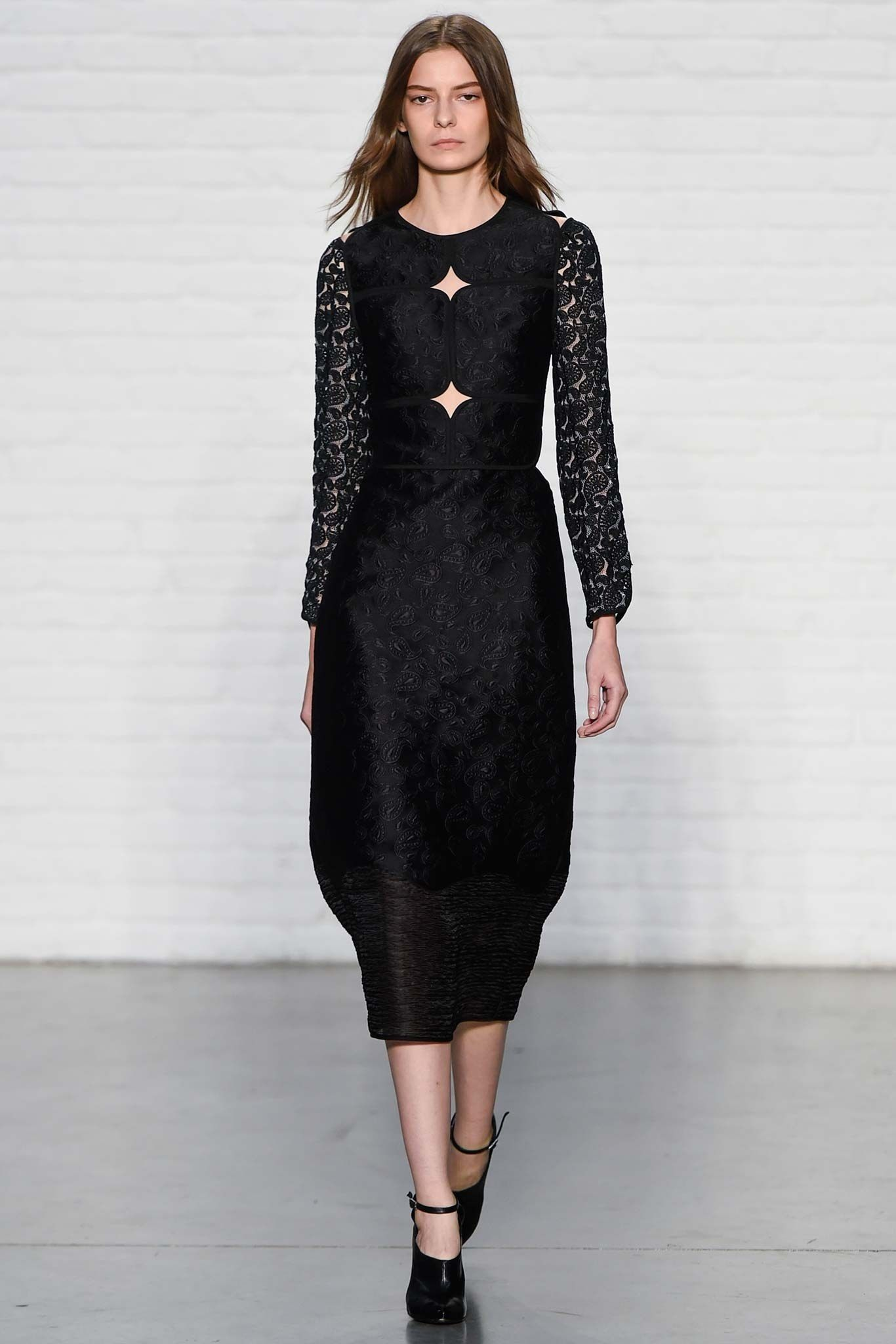 Yigal Azrouël Spring 2015 Ready-to-Wear Fashion Show - Dasha Denisenko