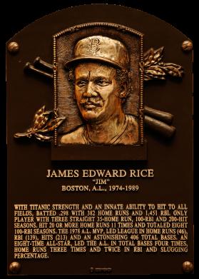 Photo of Jim Rice