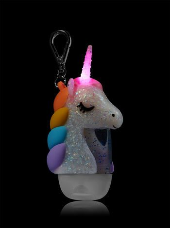 Sparkly Unicorn Light Up Pocketbac Holder Unicorn Stuff