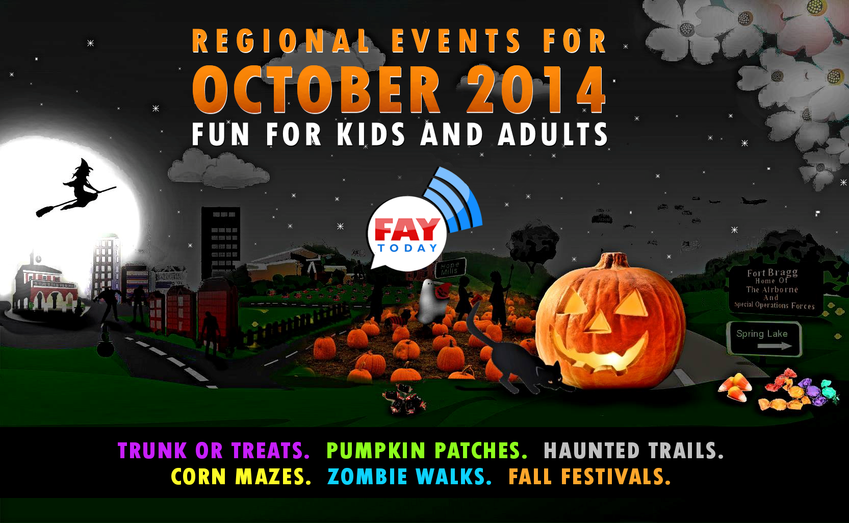 List of 2014 Halloween Events for Kids and Adults Near