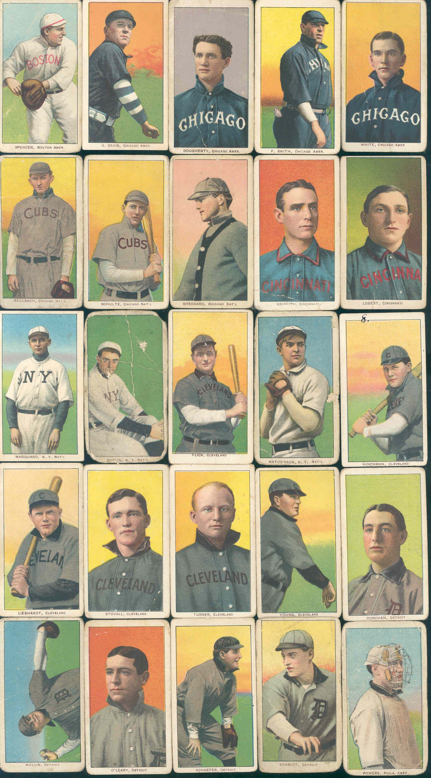 Lot Detail 1909 1911 T206 Tobacco Baseball Cards