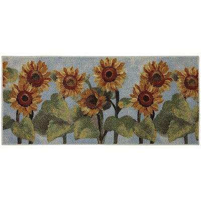 Mohawk Home Summer Sunflower Kitchen Rug 20 X 45