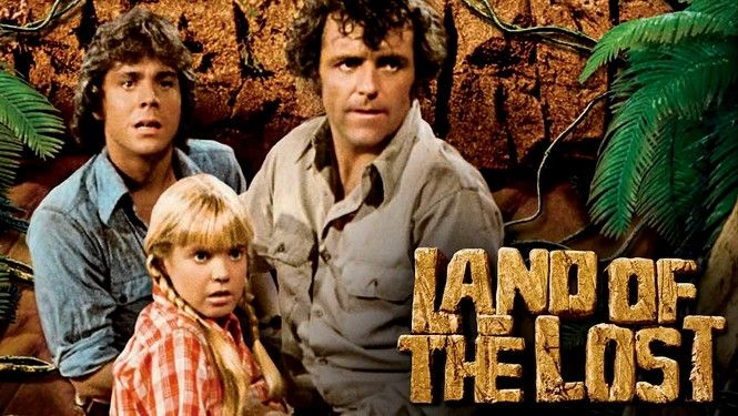 Land of the Lost.  >> whenever we are sick my sister & I still reference the sound of the slee stacks, sounded just like an upper respiratory infection!!   Ha ha
