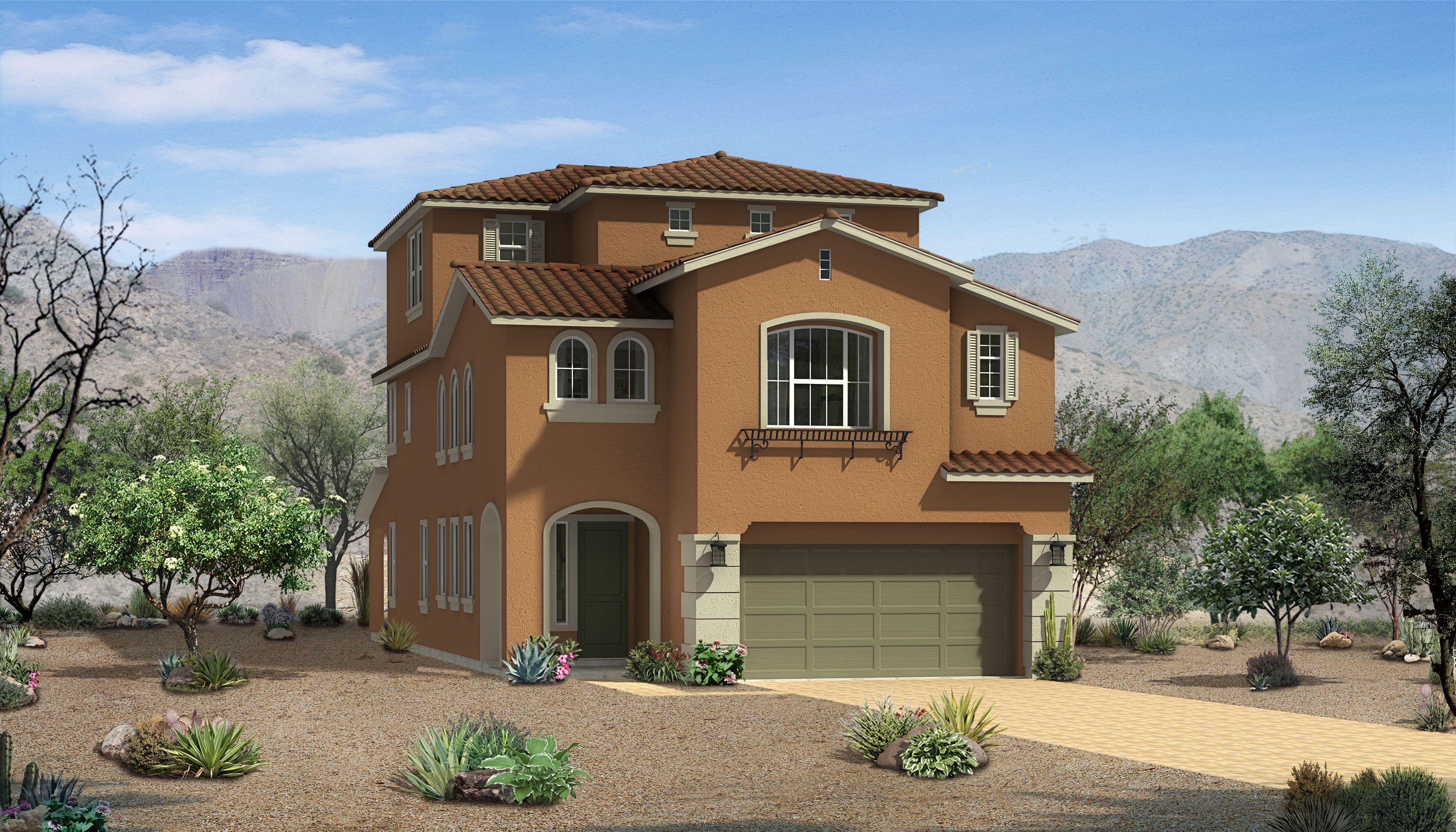 Model homes image by Skye Canyon on Woodside Model Homes